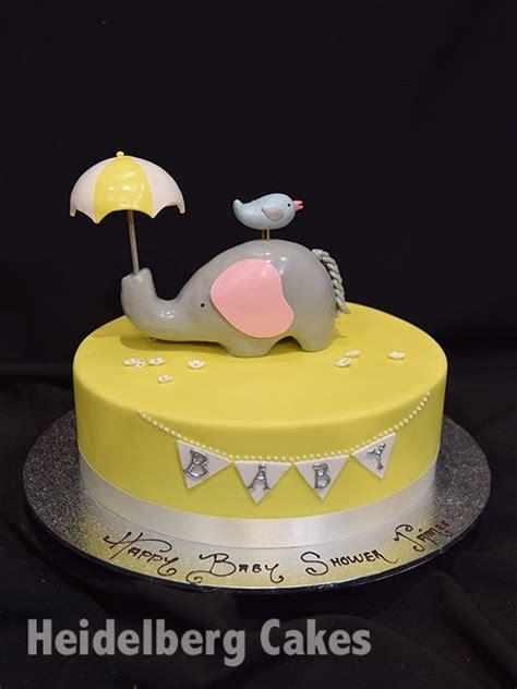 baby shower  elephant heidelberg cakes