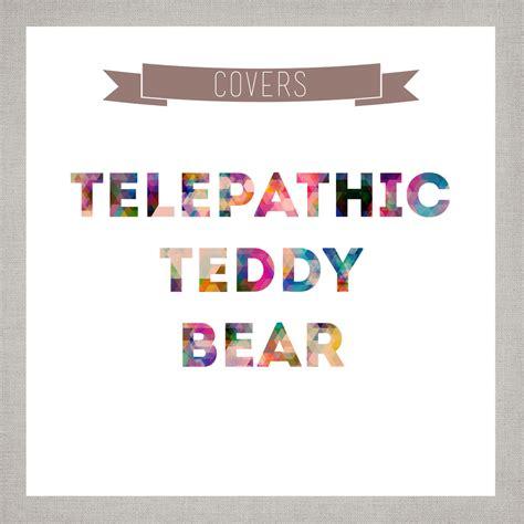 Where Is My Mind Pixies Telepathic Teddy Bear