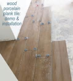 tile flooring demo installation centsational