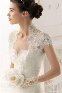 aire barcelona 2014 bridal collection lace wedding With lace jacket for wedding dress