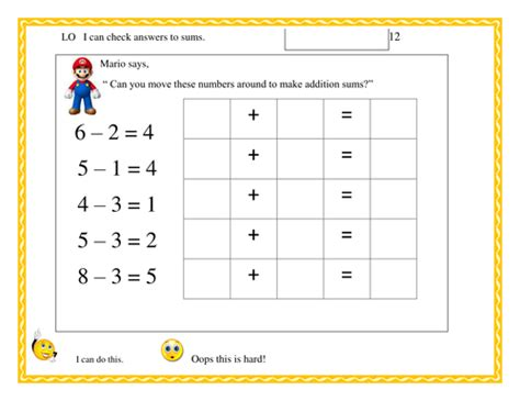 using inverse operations to check answers by sudall