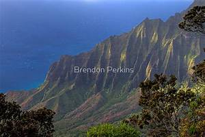 """Kalalau Valley (Kauai, Hawaii)"" by Brendon Perkins"
