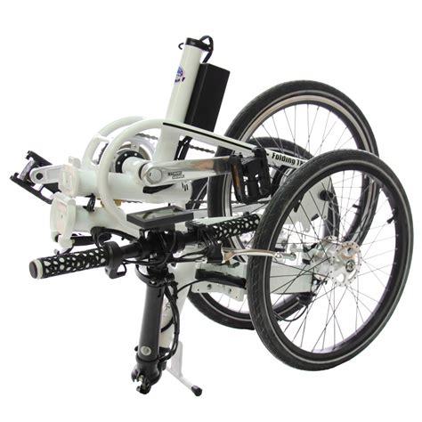 tricycle electrique pliant adulte etnic  roues avant