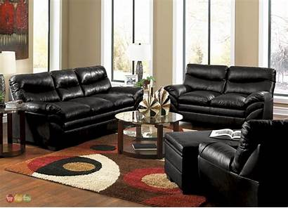 Living Sofa Leather Furniture Casual Bonded Contemporary