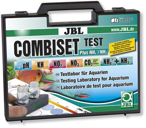 test d eau aquarium kit de tests jbl combiset plus nh4