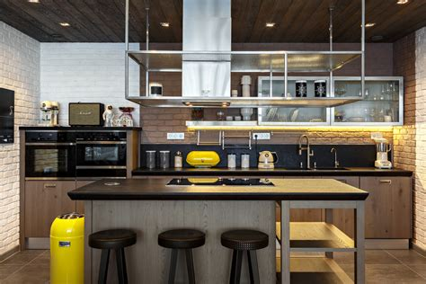 Industrial Style Kitchen by 20 Spectacular Industrial Kitchen Designs That Will Get