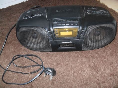 Cassette Player Boombox by Panasonic Rx Ds15 Portable Stereo System Cd Cassette