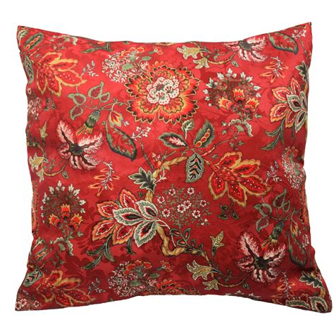 traditions  waverly navarra floral decorative throw