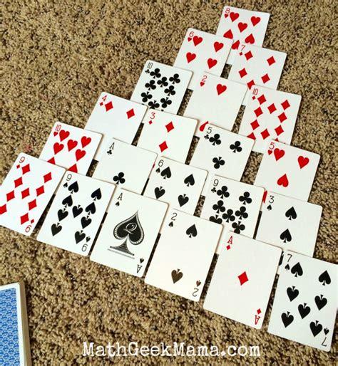 Pyramid A Fun And Easy Math Card Game To Make Ten