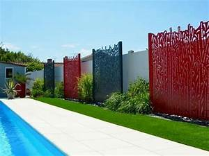 claustra aluminium decoupe laser ambellya claustra With awesome photos terrasses et jardins 5 portail alu decoupe laser