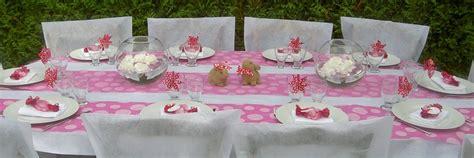 Decoration Table Bapteme Id 233 Es De D 233 Coration De Table Pour Un Bapt 234 Me De Fille
