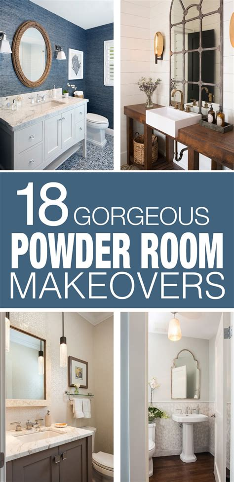 inspiring powder rooms   nest