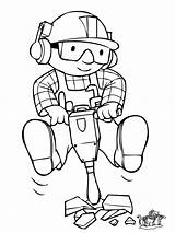Coloring Builder Bob Printable Popular sketch template