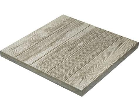 dalle pour terrasses b 233 ton teck naturel 50x50x3 8 cm imitation bois gris acheter sur hornbach ch