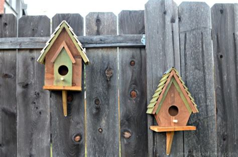 gorgeous diy birdhouse designs