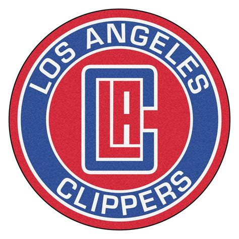 fanmats nba los angeles clippers blue  ft   ft