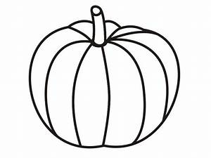 Best Pumpkin Outline Printable  22948
