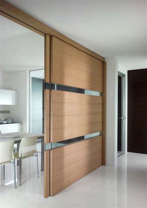 peinture cuisine bois cloison coulissante en verre ou bois pour la maison moderne