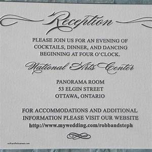 wedding invitation elegant wedding reception invitation With wedding reception invitation wording after private ceremony