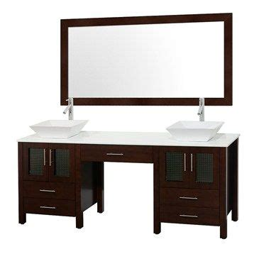 allandale 75 quot double bathroom vanity espresso colors