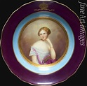 Fine Art Images - Expert search | Plate with Portrait of ...
