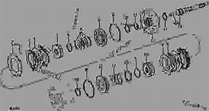 Transmission Clutch Pack  Front   Power Shift   02i22