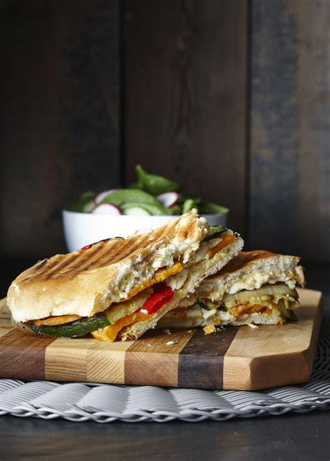 panini aux legumes grilles inspiration