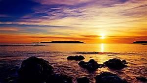 Sunrise, Beach, Wallpapers