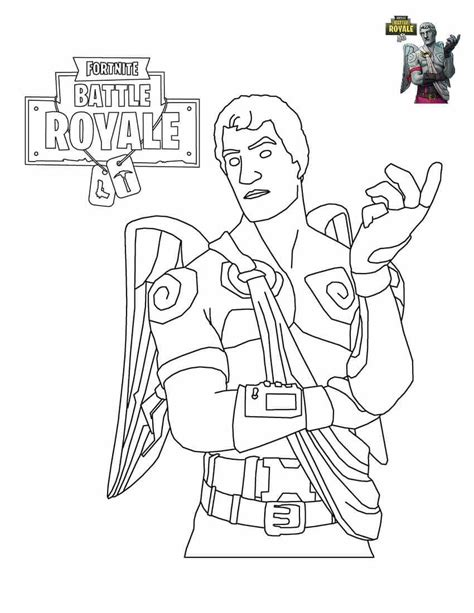 Fortnite Llama Free Coloring Pages