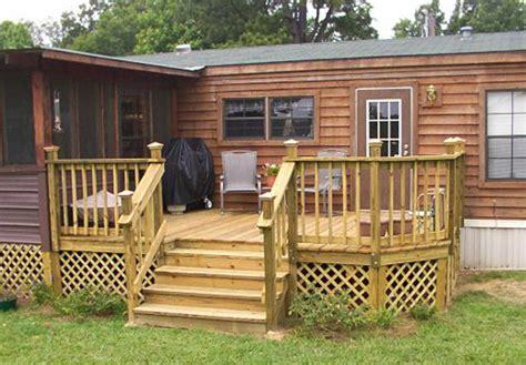 Back Deck Designs For Houses