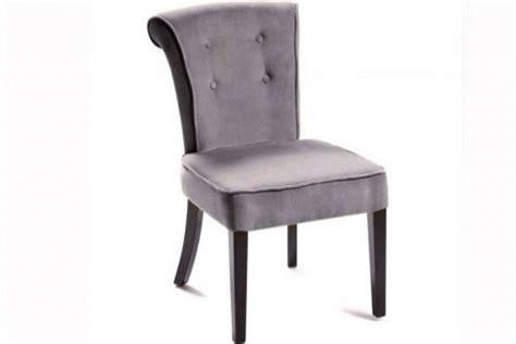 chaise capitonnée grise chaise capitonnée velours gris declikdeco com