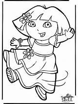 Dora Coloring Coloriage Kleurplaat Kleurplaten Desenhos Dibujos Crystal Ball Imagens Colorier Colorare Pintar Dieren Aladin Jasmine Colorear Vos Nick Jr sketch template