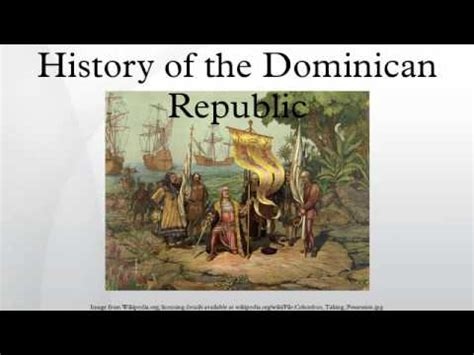 History Of The Dominican Republic Youtube