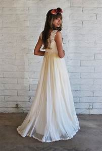 1960s boho wedding gown With 1960s wedding dresses styles