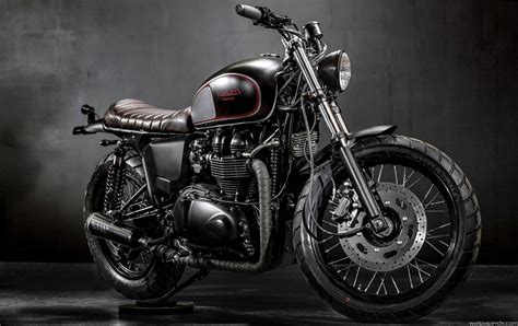 74+ Triumph Motorcycle Wallpapers On Wallpaperplay
