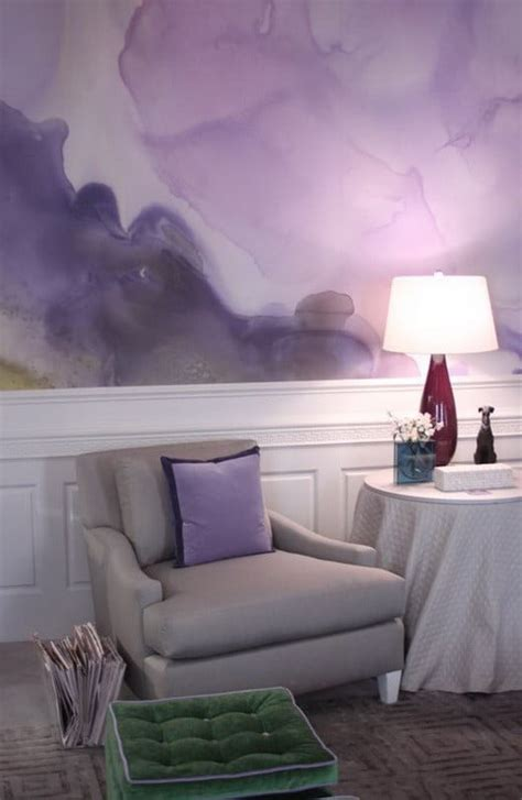 painting  walls  watercolors  ideas