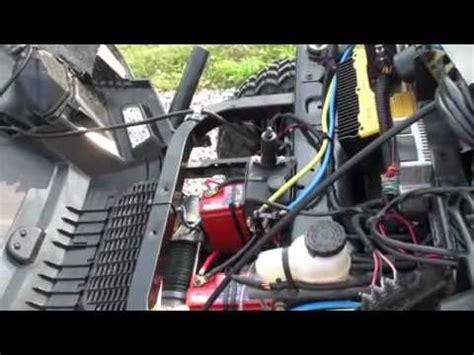 polaris ranger ev viper winch install youtube