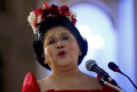A Notsomerry Holiday For Imelda Marcos  Page Six