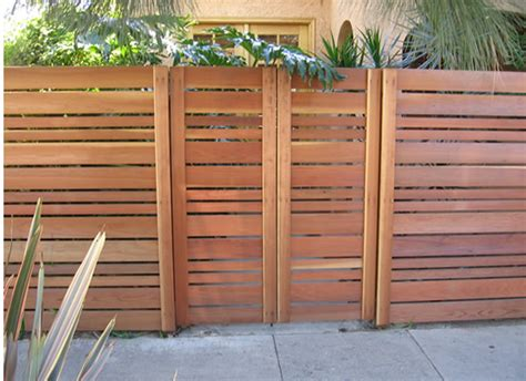 Horizontal Privacy Fence Panels