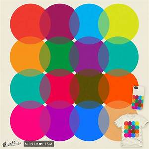 Score Venn Diagram Of Color By Jackiefarkas On Threadless