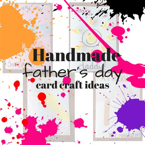 craft card ideas handmade fathers day card craft ideas 187 childhood 1452