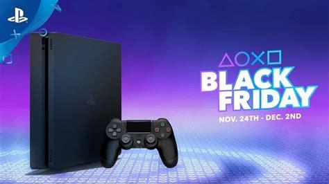 black friday ps bundles psvr ps game deals confirmed  sony uk playstation universe