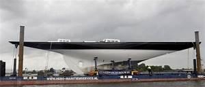 Claasen Jachtbouw J Class Yacht Lionheart Nearing Her