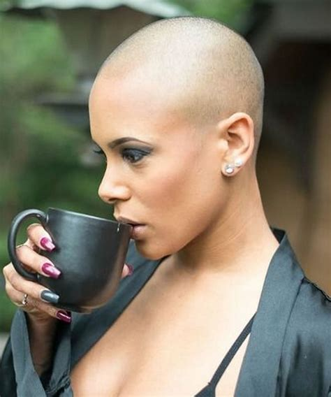Trends Bald haircuts & headshave for women 2018 2019