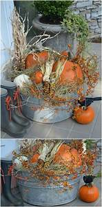 15, Diy, Outdoor, Fall, Decor, Projects, For, Your, Garden