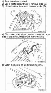 Pics  How To Remove Outside Mirror Glass