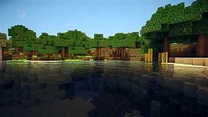 Minecraft Wallpapers Water Desktop Pc Computer Backgrounds