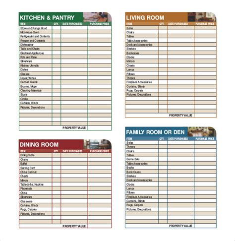 inventory checklist sle inventory list 30 free word excel pdf documents free premium templates