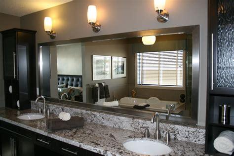 Tips Framed Bathroom Mirrors