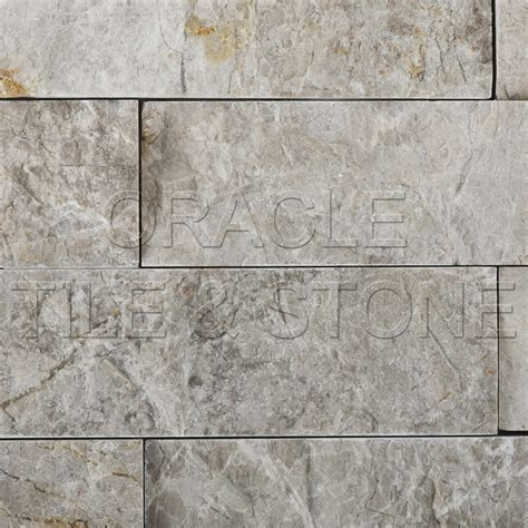 Oracle Tile And Ebay by 2 X 6 Silverado Gray Marble Split Faced Mosaic Tile Ebay